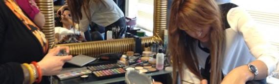 Makyaj Kursunda Gece Makyajı ve Gelin Makyajı Çalışmaları